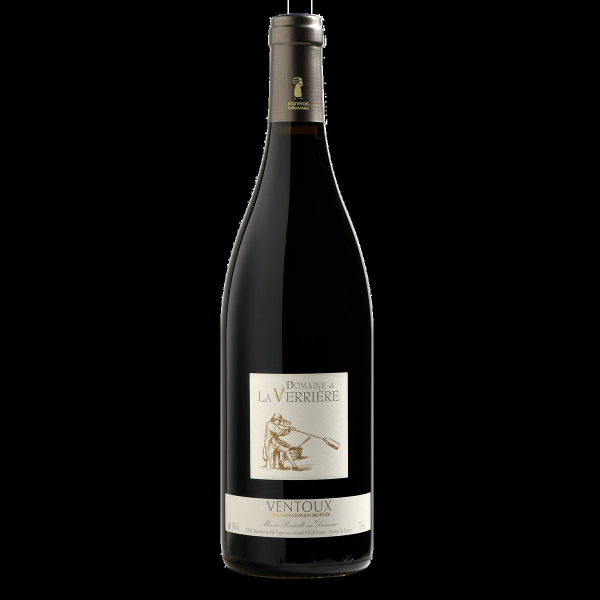 Domaine de la Verrière vin Rouge de Provence Luberon AOP Ventoux