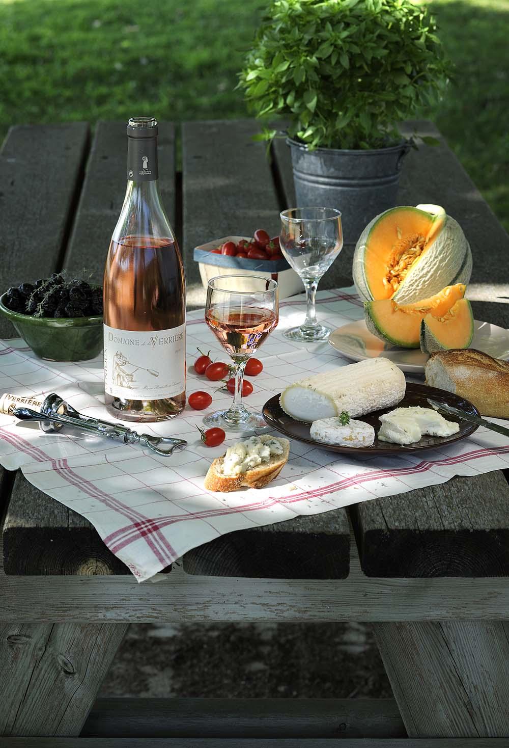 Domaine de la Verrière Luberon vin rosé de Provence AOP Ventoux